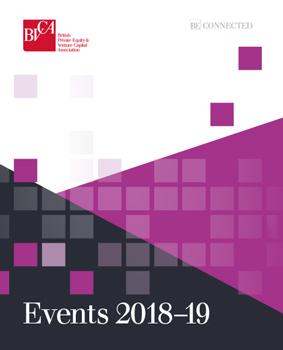 BVCA Events Brochure