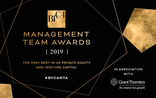 BVCA Management Team Awards 2019