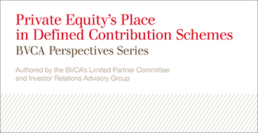 Private Equity's Place in Defined Contribution Schemes